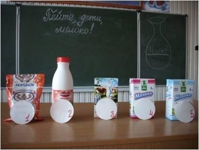 Молоко продукт здоровья Молоко для эксперимента