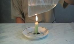 Теплопроводность: несгораемые нить, бумага и полиэтилен