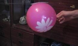Реактивное движение воздушного шарика