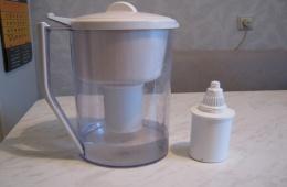 Разбираем фильтр для воды