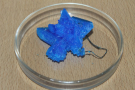 Влияние различных факторов на рост и форму кристаллов медного купороса