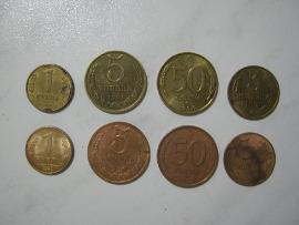 Монеты в уксусе